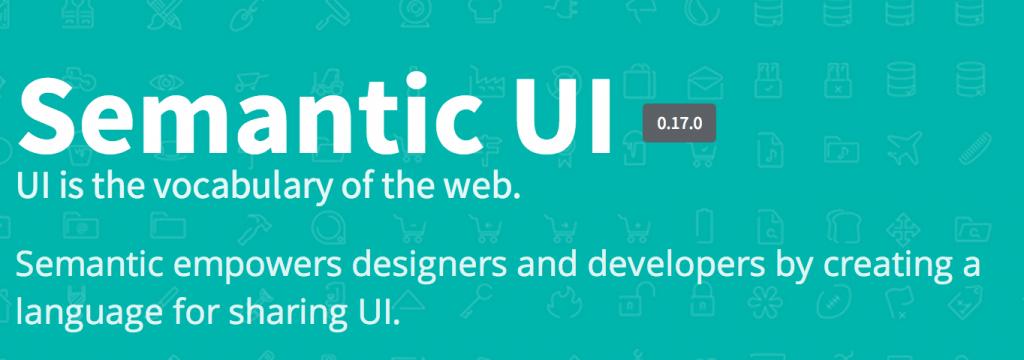 Semantic-UI